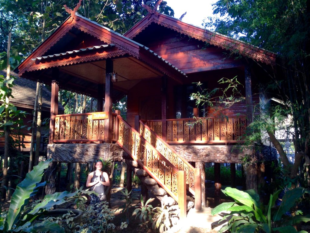 Cabin in elephant nature park