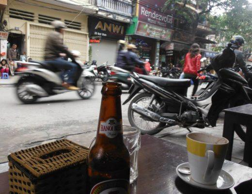 The chaos of Hanoi, Vietnam