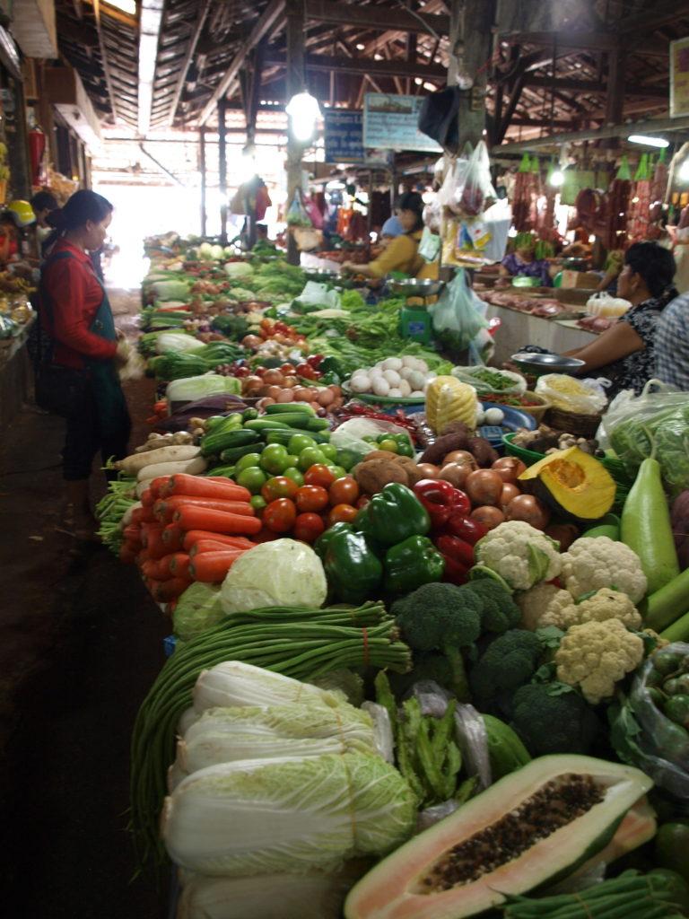 Market in Siem Reap