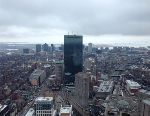 Skyline photo of Boston, USA