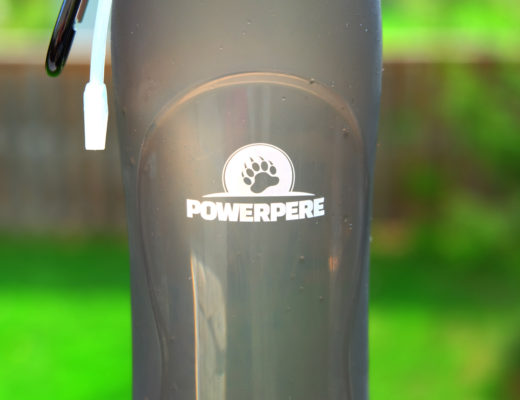 PowerPere travel waterbottle
