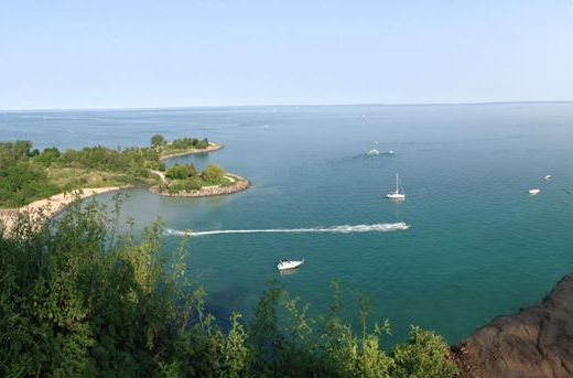 Photo of the Scarborough Bluffs