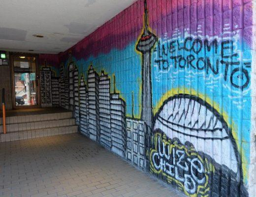 Toronto street art in Kensington Market