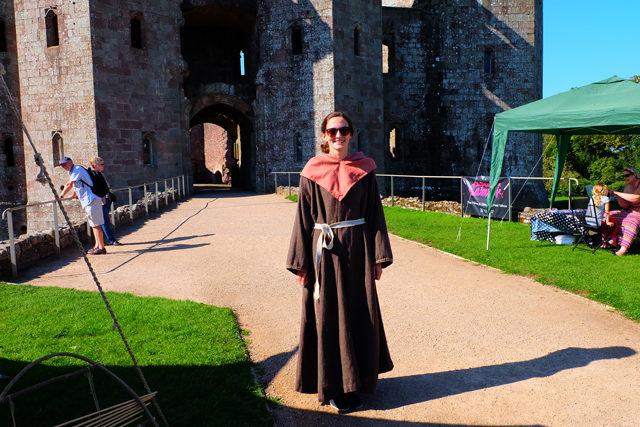 Raglan Castle Viking