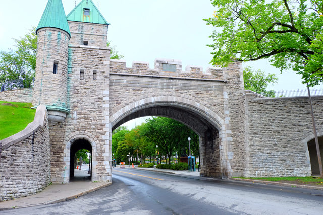 Walled Quebec City