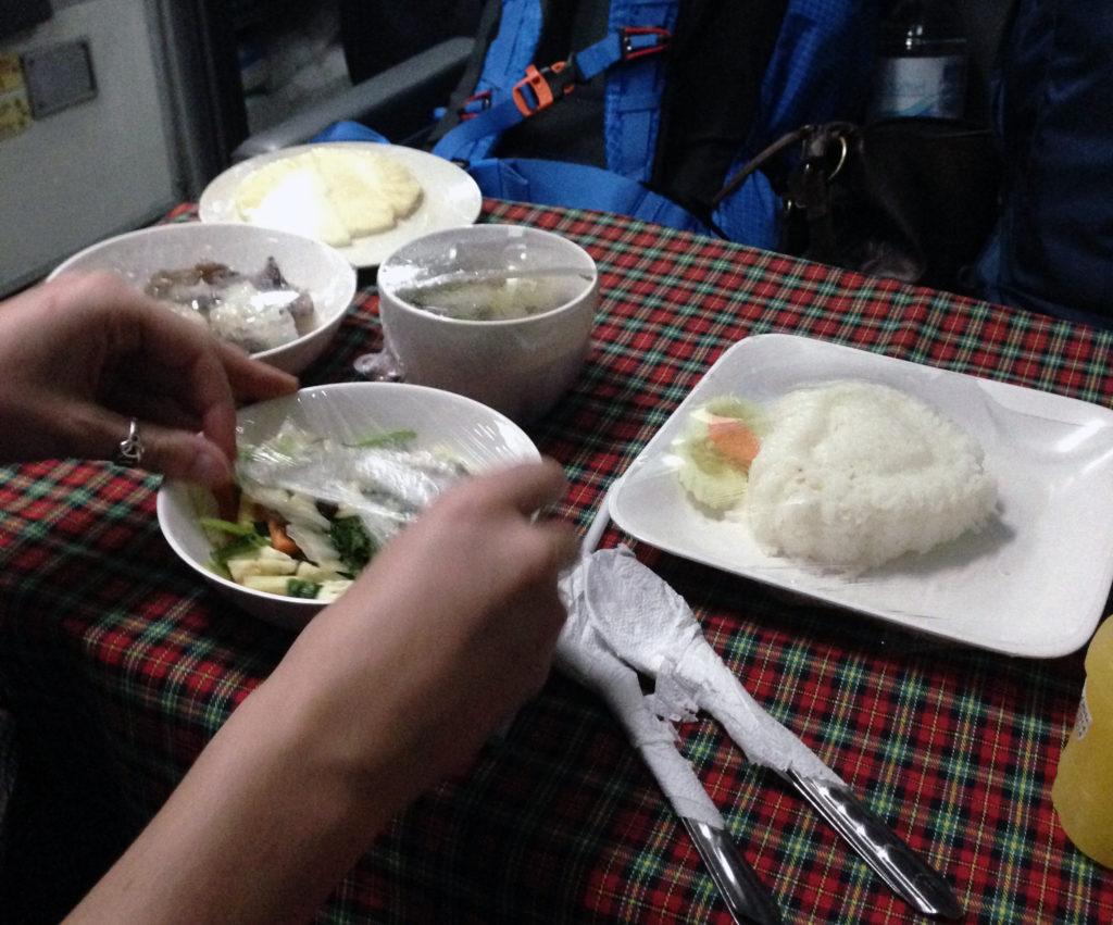 Thailand Train Food