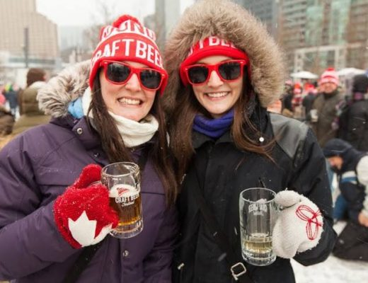 Two girls at Toronto Winter Beer Fest