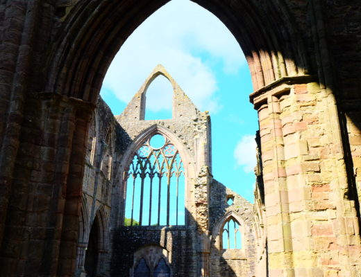 Priory in Wales, UK