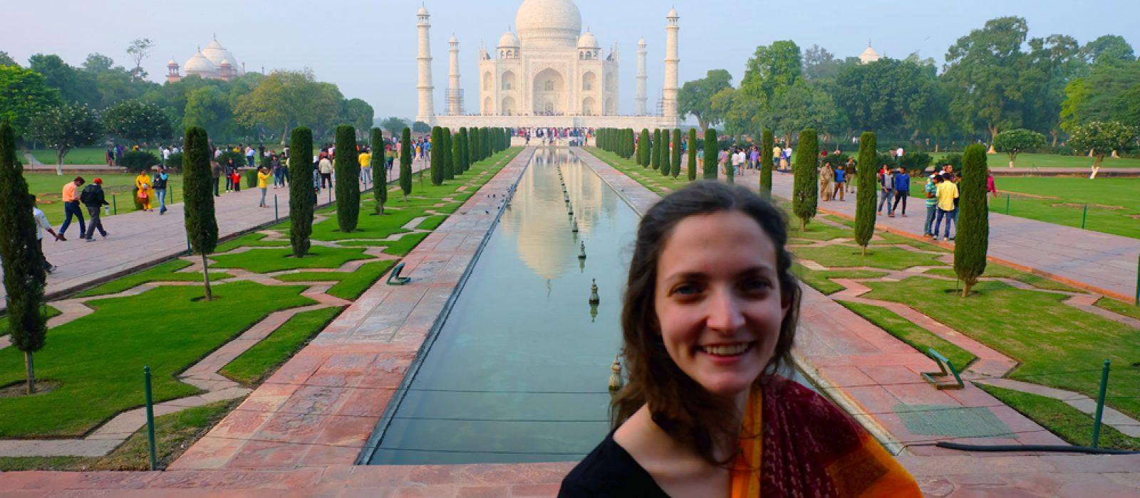 An Indian Jewel: The Taj Mahal