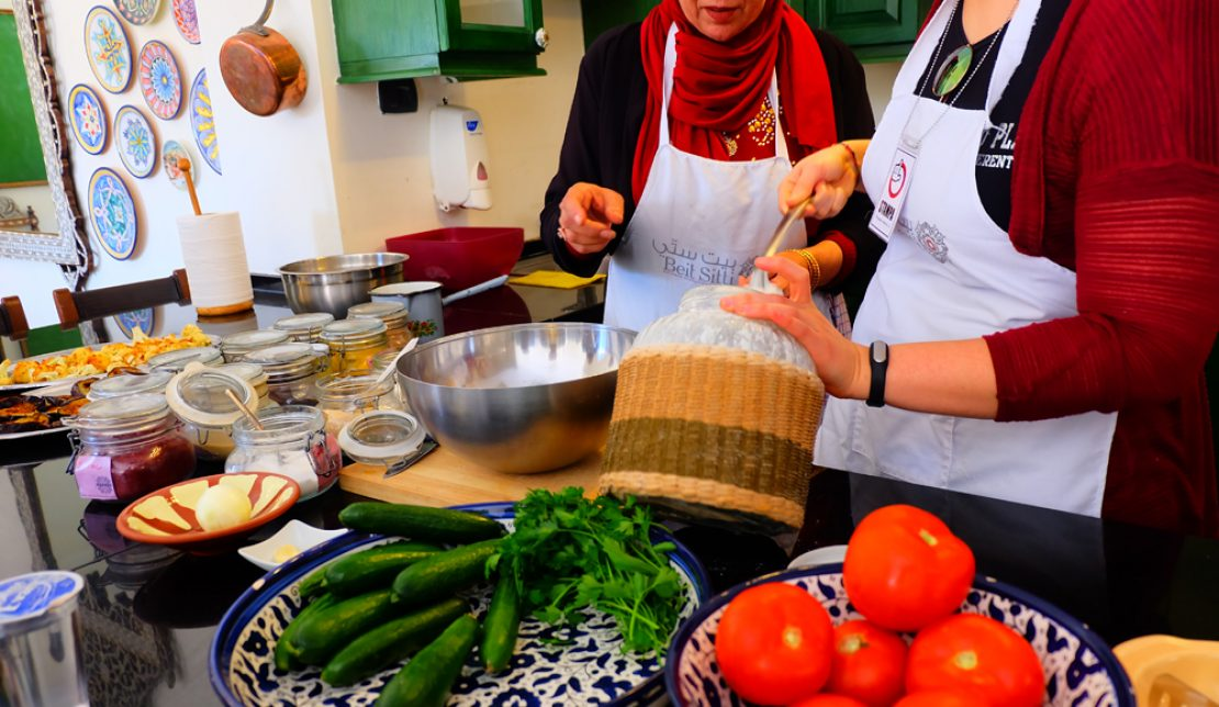Cooking Up a Storm with Beit Sitti in Jordan