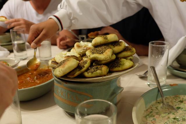 Dishes at Petra Kitchen
