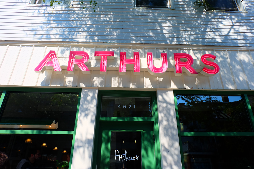 Arthurs Sign