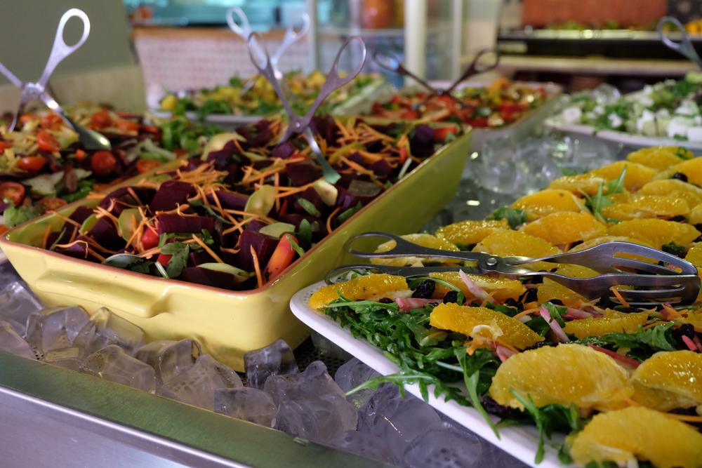 Fresh salad at Wonder in Cascais