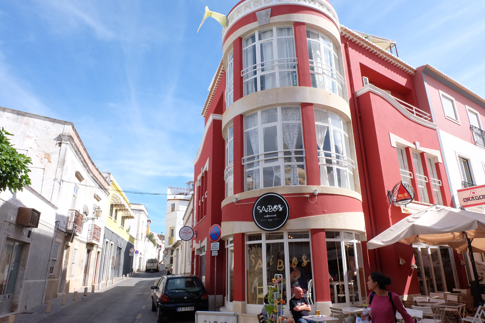 Where I stayed on my Portugal trip while in Lagos, Camone Hostel.
