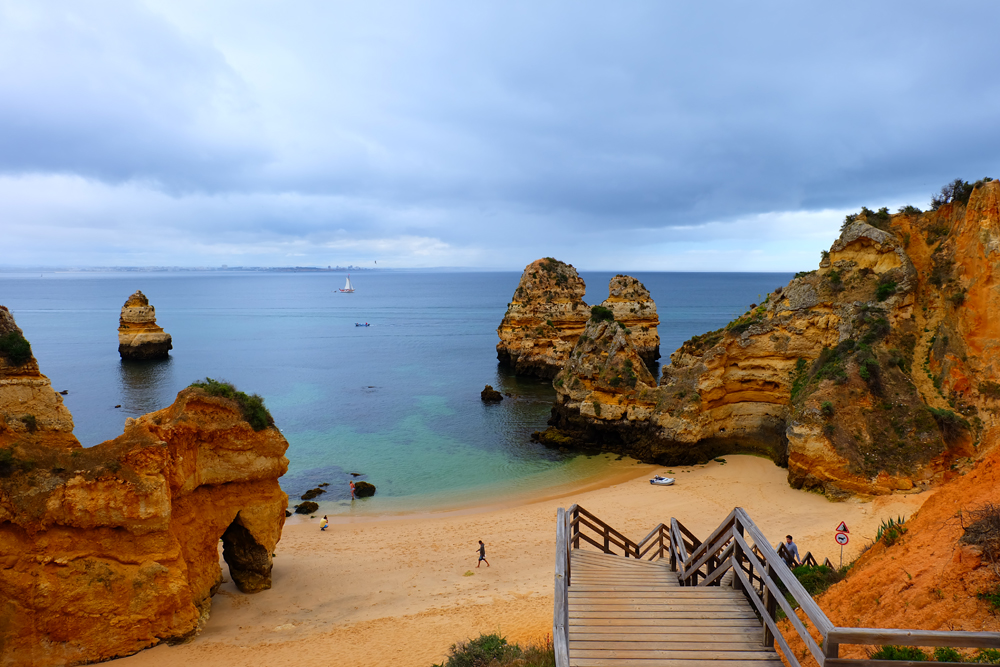 Gorgeous beach that I discovered on my Portugal trip in Lagos.