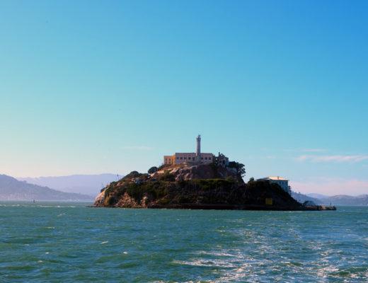 Alcatraz excursion on the water