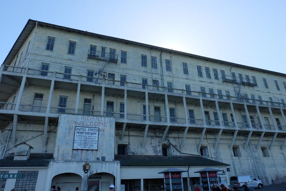 Alcatraz up close on a Alcatraz excursion