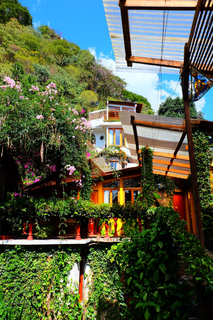 The best place to stay in Lake Atitlan, Guatemala, Lush Hotel.