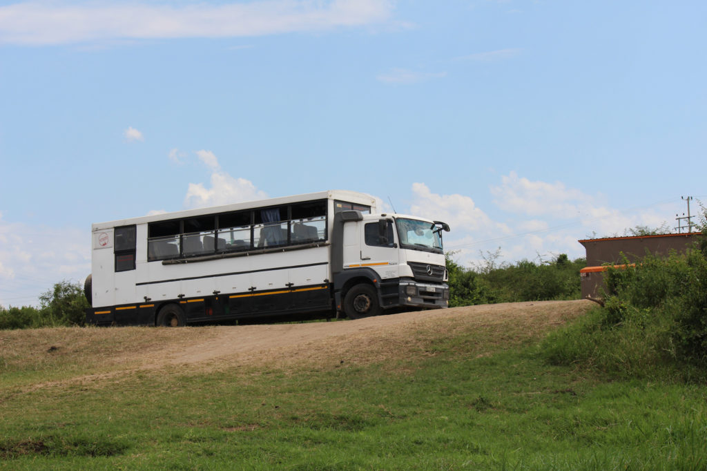 Overland camping bus for East Africa travel
