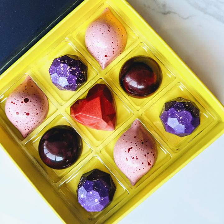 Shop local for Valentines Day in Toronto with these beautiful handcrafted chocolate.